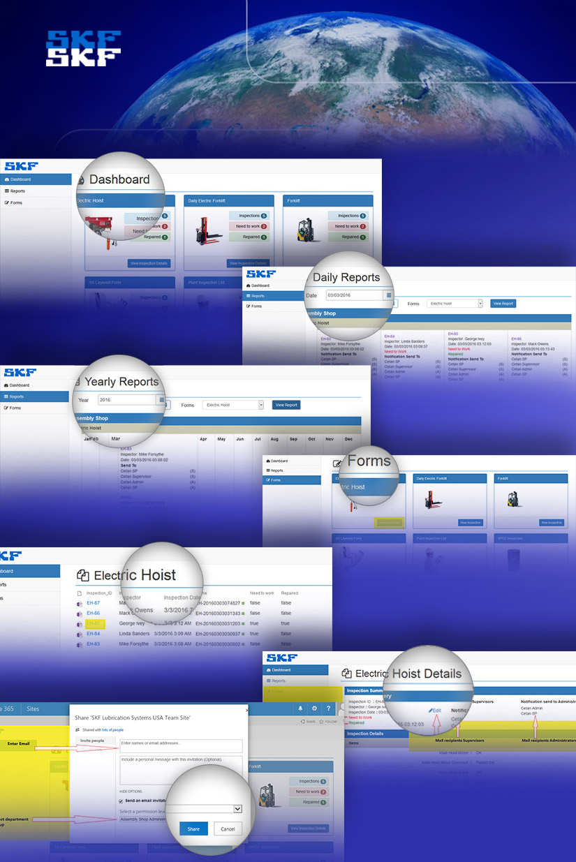 SKF SharePoint Forms